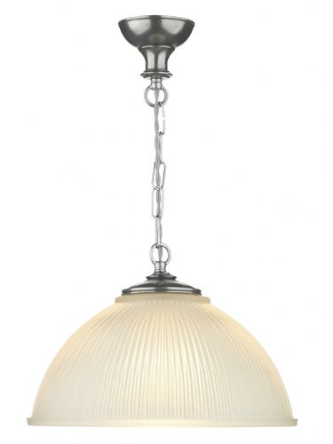 1-light Made in the Cotswolds Pewter Finish Yeats Pendant Light YEA0167 (Class 2 Double Insulated)